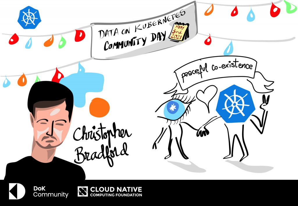 Christopher Bradford - Finding peaceful co-existence between Cassandra and Kubernetes